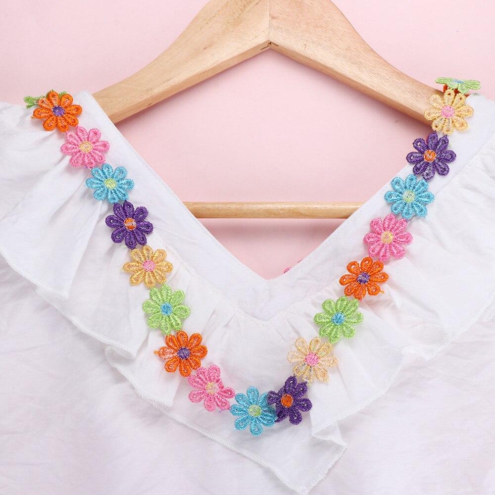 laverslace Beautiful Pink Daisy Gathered Lace Trim 2cm Sewing Crafts Baby