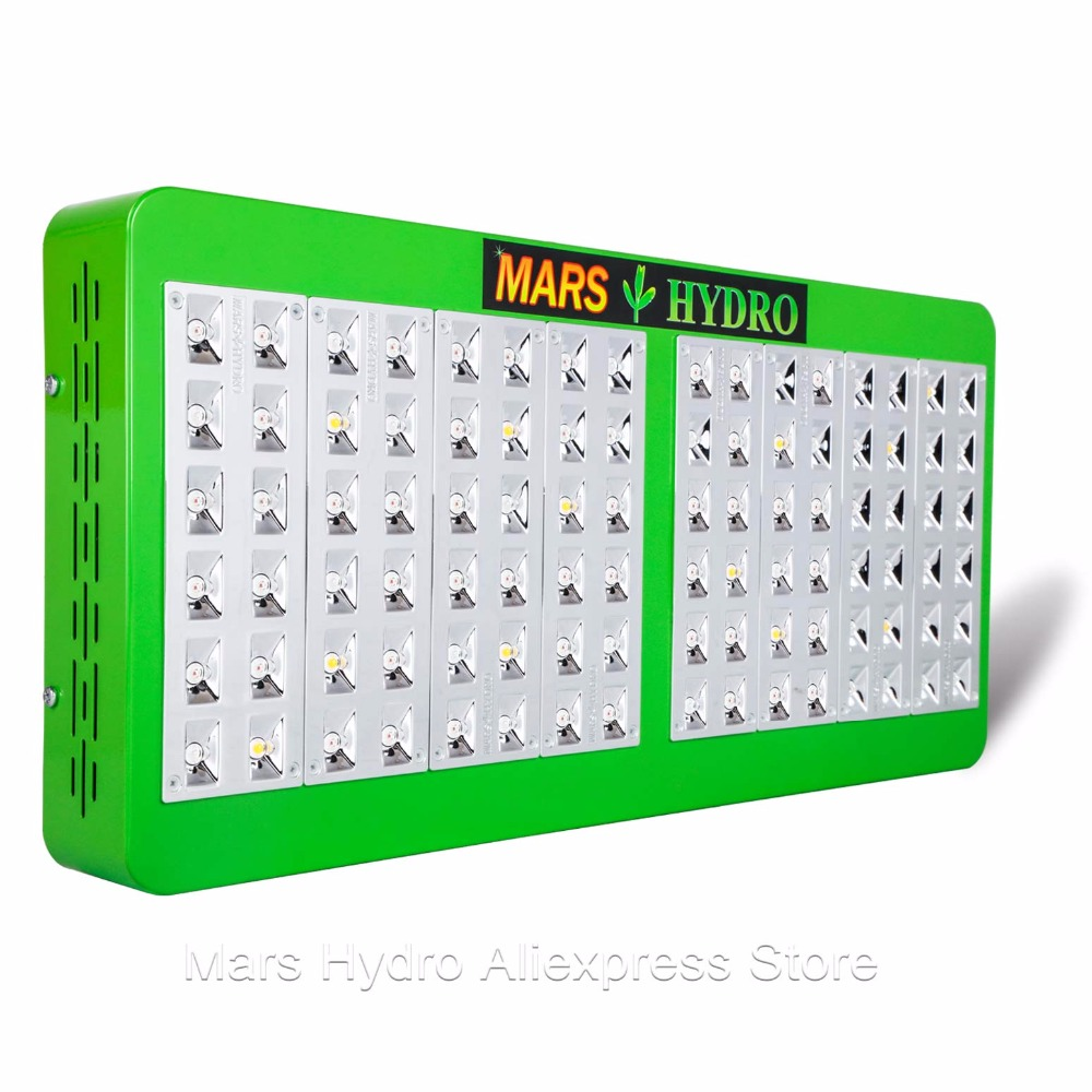 Mars Hydro Reflector 480W Led Grow Light Full Spectrum Grow Lights for Indoor Garden tyr hydro light