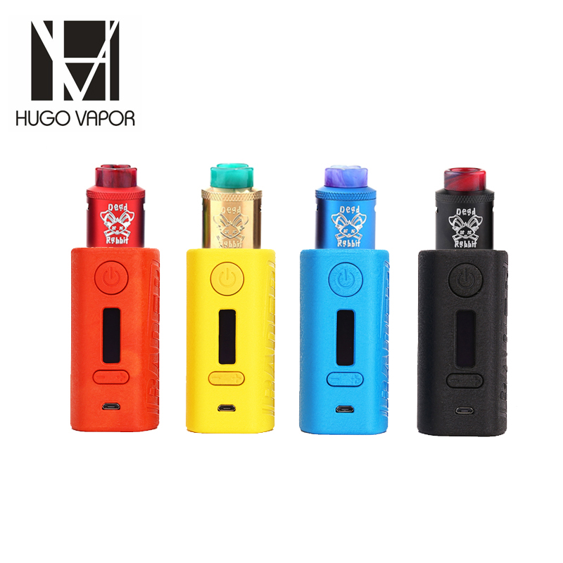 купить E Cigarettes 211W Original Hugo Vapor Boxer Rader Box Mod OLED Display Vape With Hellvape Dead Rabbit RDA 24mm Vape Vaporizer по цене 2719.22 рублей