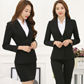 2017 new Spring and winter wear suits suits women's suits are installed long-sleeved suits skirt overalls