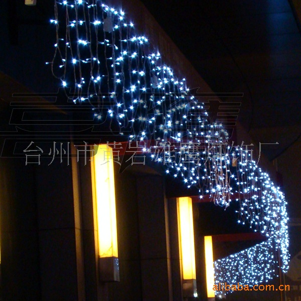 aliexpresscom buy 2018 spotlight spotlight christmas lights curtain lamp led string series stars lantern decoration courtyard 10 meter wide ice from