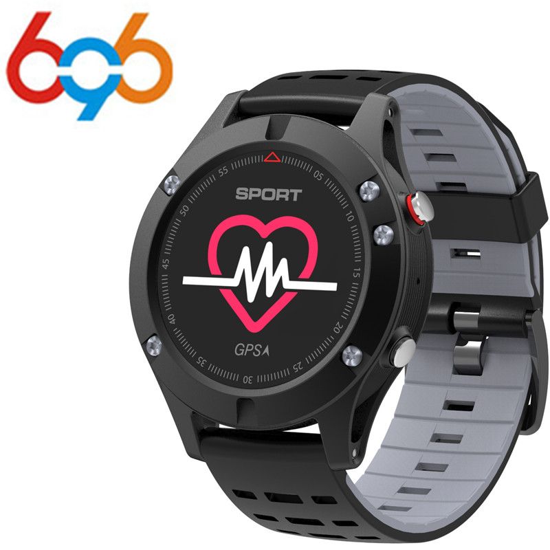 696 100% Original <font><b>No.1</b></font> <font><b>F5</b></font> GPS Smart watch Altimeter Barometer Thermometer Bluetooth 4.2 Smartwatch Wearable devices for iOS Andr image
