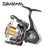 DAIWA EXCELER LT Spinning Angeln Reel 1000/2000/3000/4000/5000/6000 5,3: 1 carretilha de pesca max drag 12kg reel fishing rad