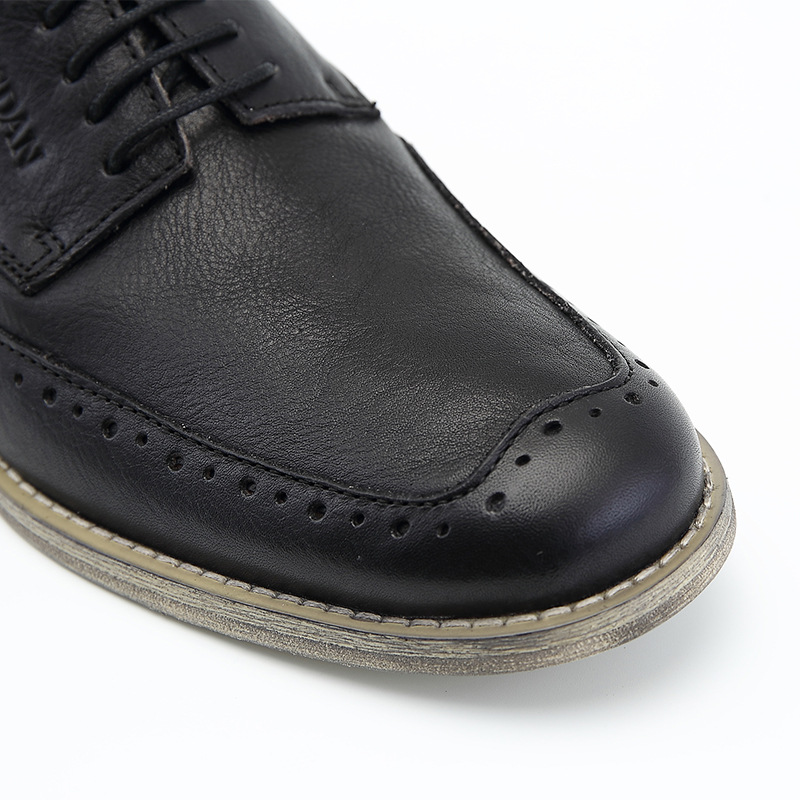 Sapatos Luxo Zapatos De Homens Nova Hombre Preto Designer Marca Estilo Britânico Brogue Mycoron Moda Trabalho Botas Casuais Casamento Formal qvan0