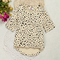 Spring Baby Girl Clothes 2017 Leopard Kids Dresses Long Sleeve Baby Dress Summer Children Girls Dresses Newborn Baby Clothes