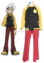 2017 new SOUL EATER Cosplay Costumes Full set Hoodie COS uniform A394