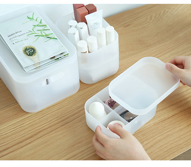 Plastic Cosmetic Storage Box to Organize Makeup with Drawers for Dressing Table of Women 20