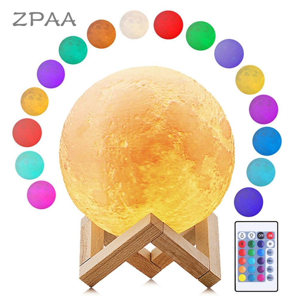 Luna Moon Lamp Earth Lamp Night Light