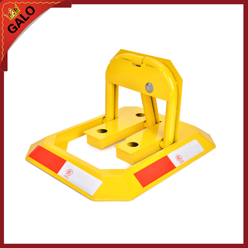 Manual Parking Barrier Parking Lock / Hand Operated No Parking Lok Bollard Post