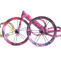 Kids Balance Bike Colorful Aluminum Alloy Wheelset Ultra Light Aluminium Alloy 12inches 85 95MM Children's Slide