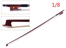 V1000 hochwertigen geigenbogen größe 1/8 violino Bogen pferdehaar violine zubehör bogen zubehör para violino