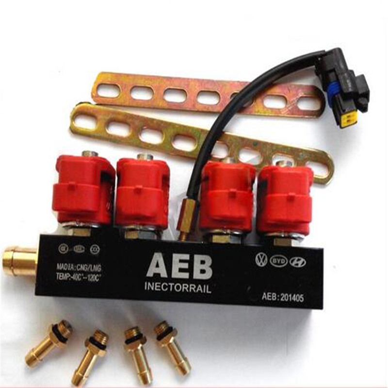 Injection Rail AEB Common Rail for CNG Sequential System 4 Cylinderes Fuel Injector Rail Kit tech 2 scanner for sale