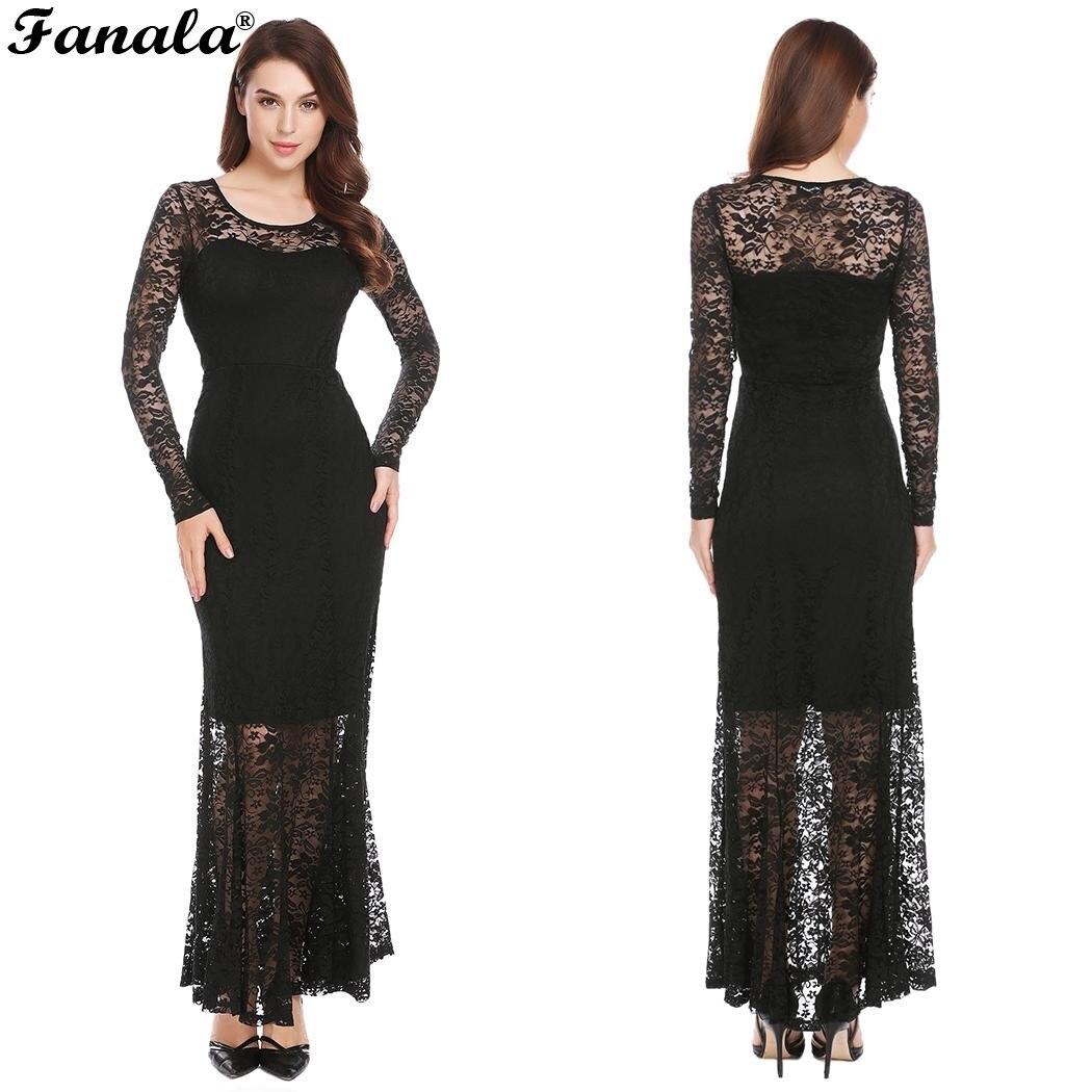Online Shop Elegant Patchwork Maxi Dress Women Long Sleeve Empire Waist  Slim Vestidos Floral Lace Party Bridesmaid Long Dress  257f2dfb4d51