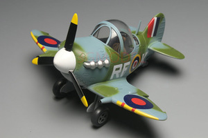 Image 2 - Model Building Kits Montage Vliegtuig Fighter Leuke Vliegtuig Model UK Spitfire Vechter Model DIY 105