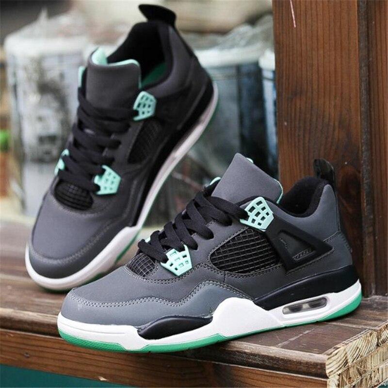 Чоловічі баскетбольні черевики низькі шкіряні спортивні черевики ... 546b611d1badb