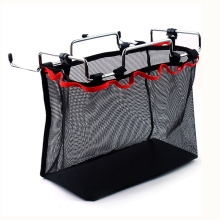 Outdoor Camping Wire Rack Portable Bag Picnic Table Barbecue Kit Kitchen Miscellaneous Net Set