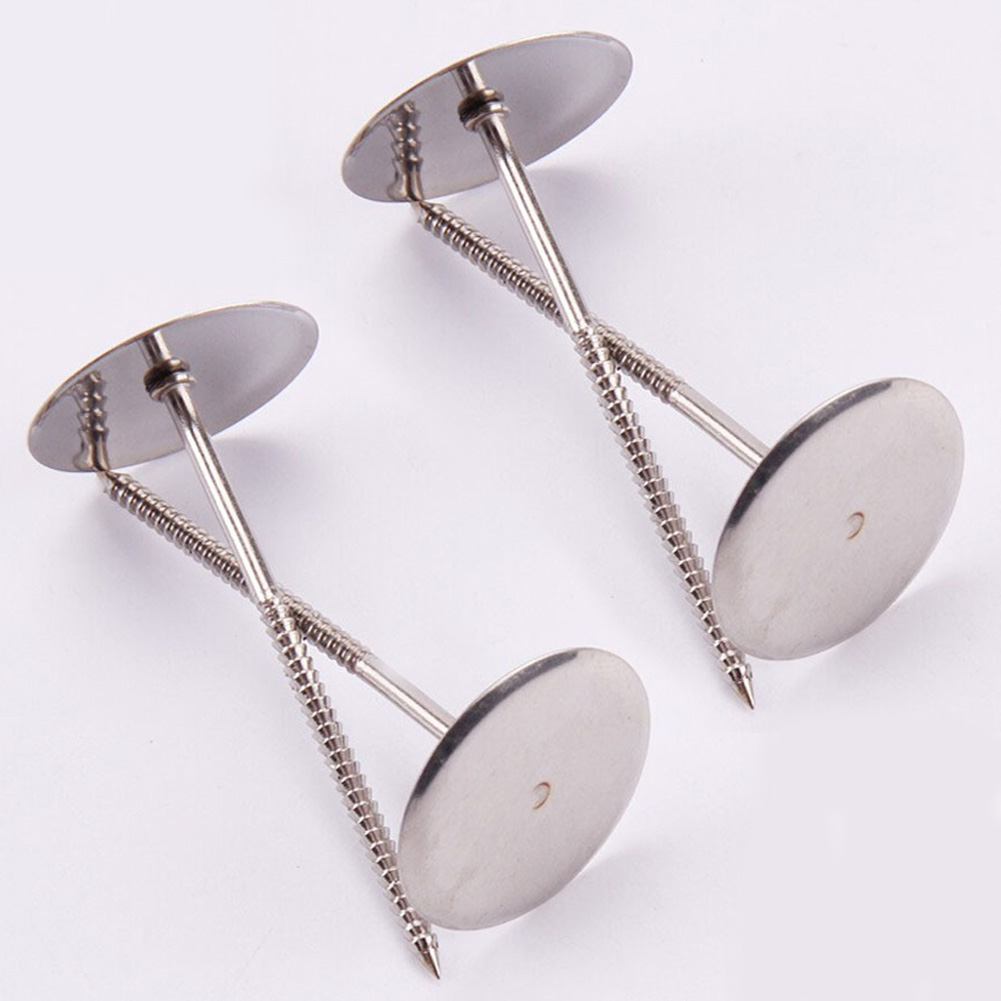 Pastry-Tool Icing-Cream Bake 4pcs Cake-Decorating Flower-Needle Nails Stainless-Steel