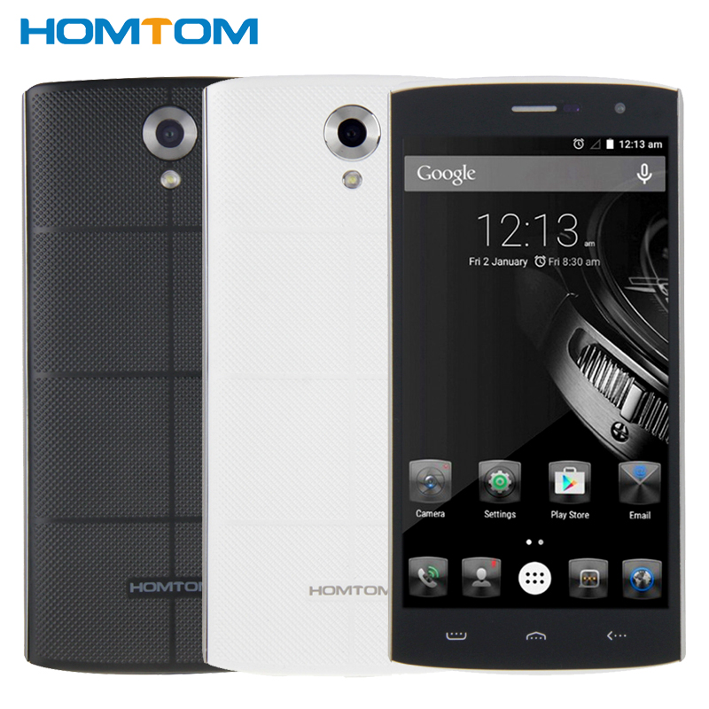 Original HOMTOM HT7 Cell Phone 1GB RAM 8GB ROM MTK6580 Quad Core 5.5 inch 8MP 2600mAh 1280×720 HD Android 5.1 Smartphone