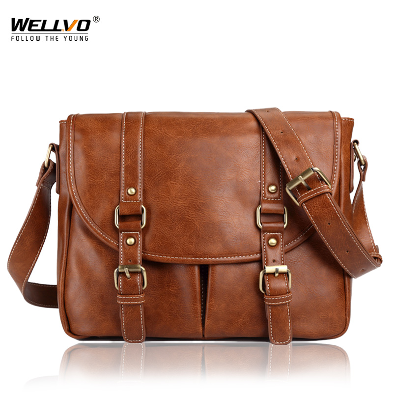 Men's PU Leather Backpack Casual Notebook Rucksack Daily Shoulder Bag Tourist Crossbody bags For Male Travel laptop bags XA170WC lowepro protactic 450 aw backpack rain professional slr for two cameras bag shoulder camera bag dslr 15 inch laptop