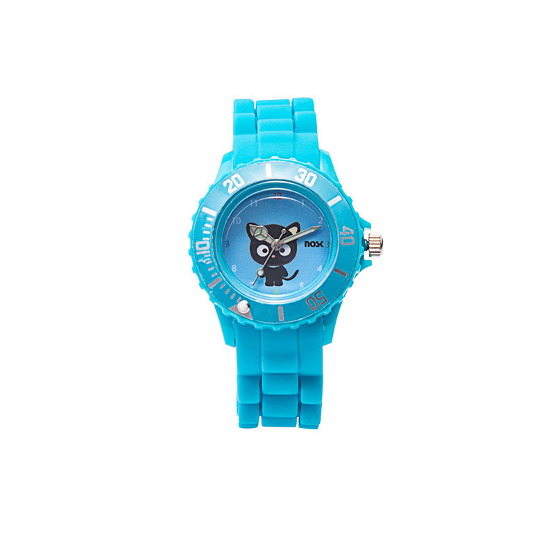 100pcs/Childen Student Waterproof Cartoon Fashion Silicon Watches