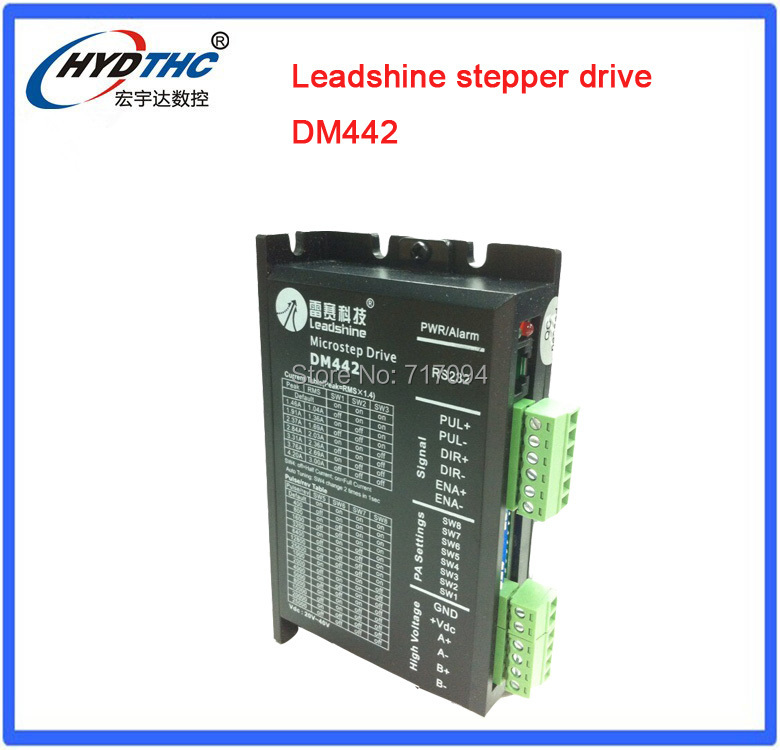 цена на Leadshine Digital Stepper Motor Drive DM442 For NEMA 16 to NEMA 23 motor
