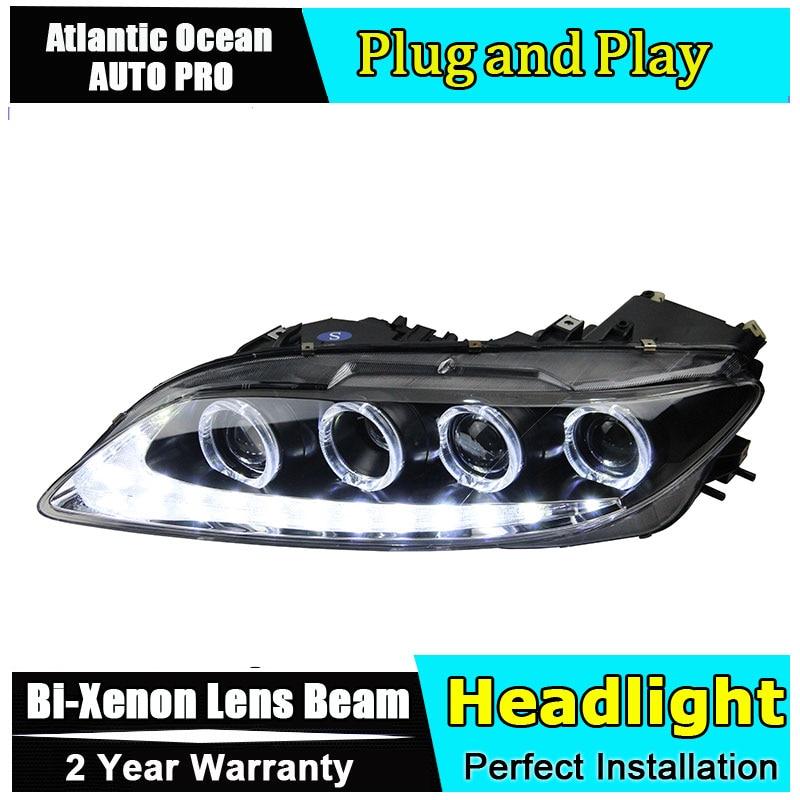 Auto.Pro Car Styling for 2003-2014 Mazda 6 LED Headlights Mazda6 LED DRL Lens Double Beam H7 HID Xenon bi xenon lens zayavlenie ot strelkova 22 06 2014 2003