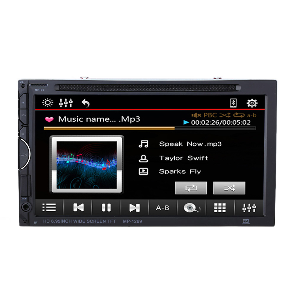6 2 inch 2 din car touch screen dvd player multimedia. Black Bedroom Furniture Sets. Home Design Ideas