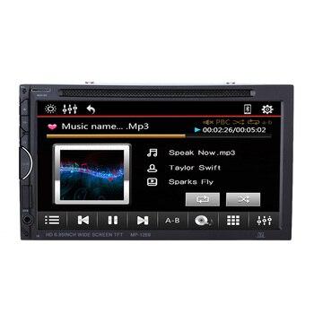 6.2 Inch 2 Din Car Touch Screen DVD Player Multimedia Bluetooth Entertainment Autoradio for Toyota VW Audi BMW Frod Volvo Bora