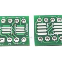 10PCS/LOT SOP8 MSOP8 SOIC8 TSSOP8 SOP8 turn DIP8 IC adapter Socket Adapter plate PCB