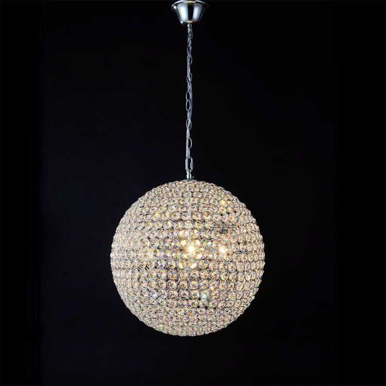Modern minimalist restaurant k9 Crystal LED pendant light fixture Home deco living room DIY Golden chrome iron ball pendant lamp furnishings brief modern k9 crystal flower pendant light fixture european fashion home deco living room diy glass pendant lamp