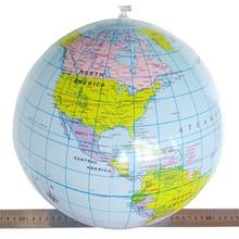 2017 heiße Verkäufe 40 CM Aufblasbare Welt Globus Lehren Bildung Geographie Spielzeug Karte Ballon Beach Ball Kostenloser Versand NNA