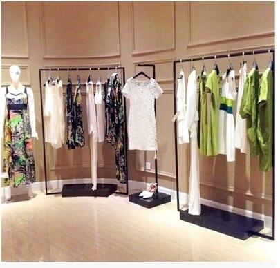 Clothing hangers clothing store display rack wedding dress coat ...