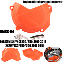 Motorcycle Engine Clutch protection cover for KTM SXF/XCF/250/350 2017-18 XCF-W/EXC-F/250/350 2017-18 Motocross Enduro Supermoto clutch cover protection cover water pump cover protector for ktm 350 exc f excf 2012 2013 2014 2015 2016