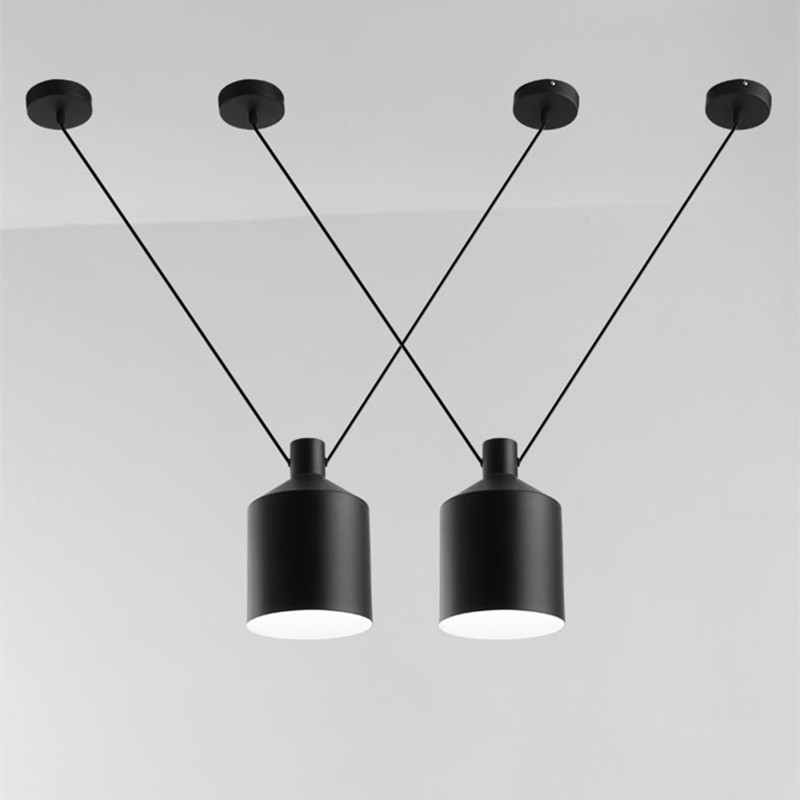 Northern Europe Simple Personality Art Living Room Bedroom Restaurant Chandelier Iron Clothing Store Cafe V Shape LED Lights simple post modernity iron restaurant bar cafe originality personality northern europe annular hall chandelier freeshipping