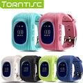 Torntisc Q50 Kid Safe GPS Smart Watch Locator Tracker Anti Потерянный Монитор Прекрасный Наручные Часы Поддержка Micro sim-карты для Детей