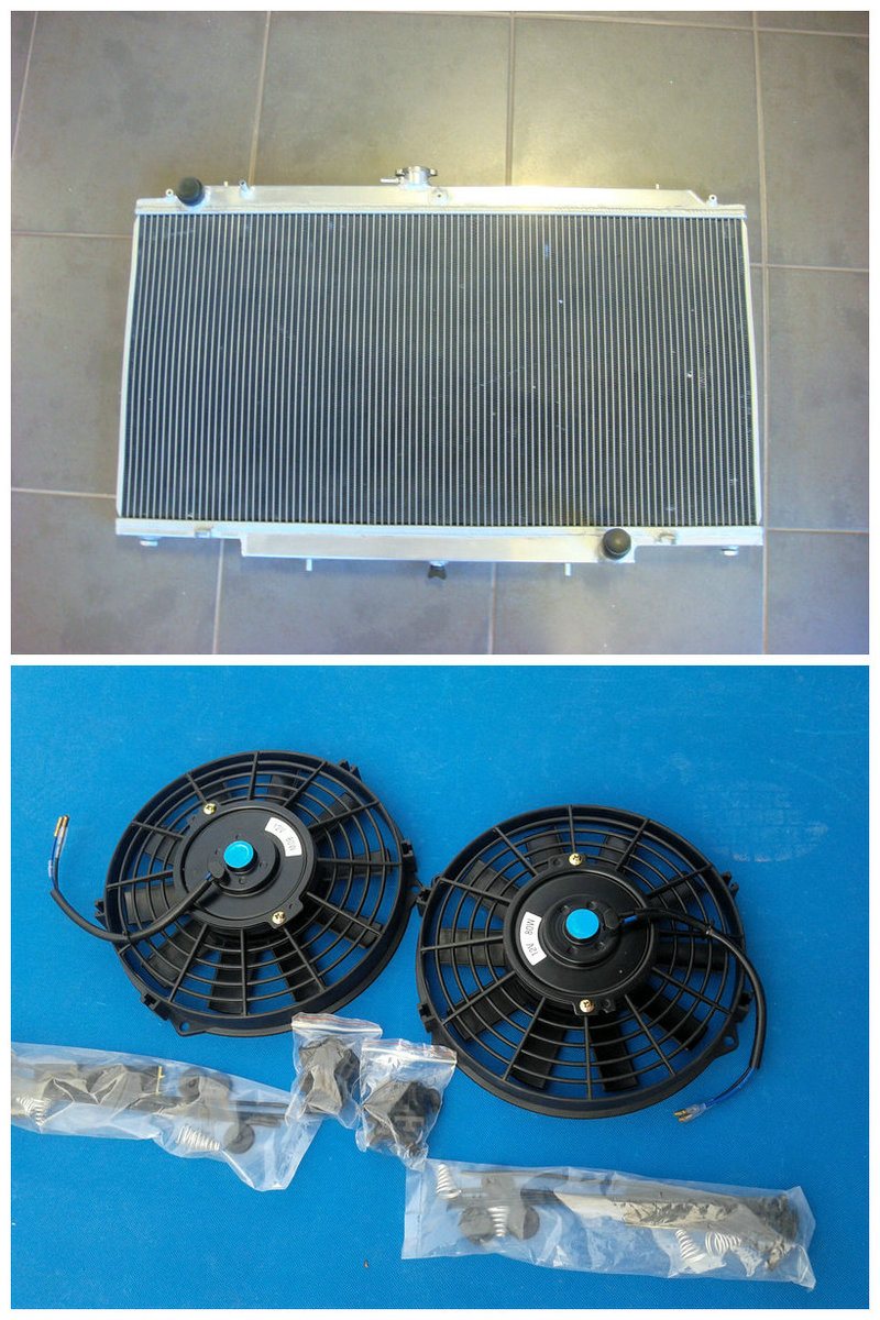 Honesty Brand New 3 Row Aluminum Radiator+2*fan For Nissan Gu Patrol Y61 Petrol 4.5l Manual And To Have A Long Life. Oil Coolers Cooling System