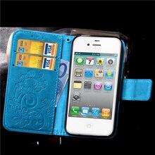 Для iPhone 5S Мода Цветочный Печати Роскошный Кожаный PU Стенд Wallet откидная Крышка Аргументы за Телефона iPhone 5 5S SE с Карты слоты