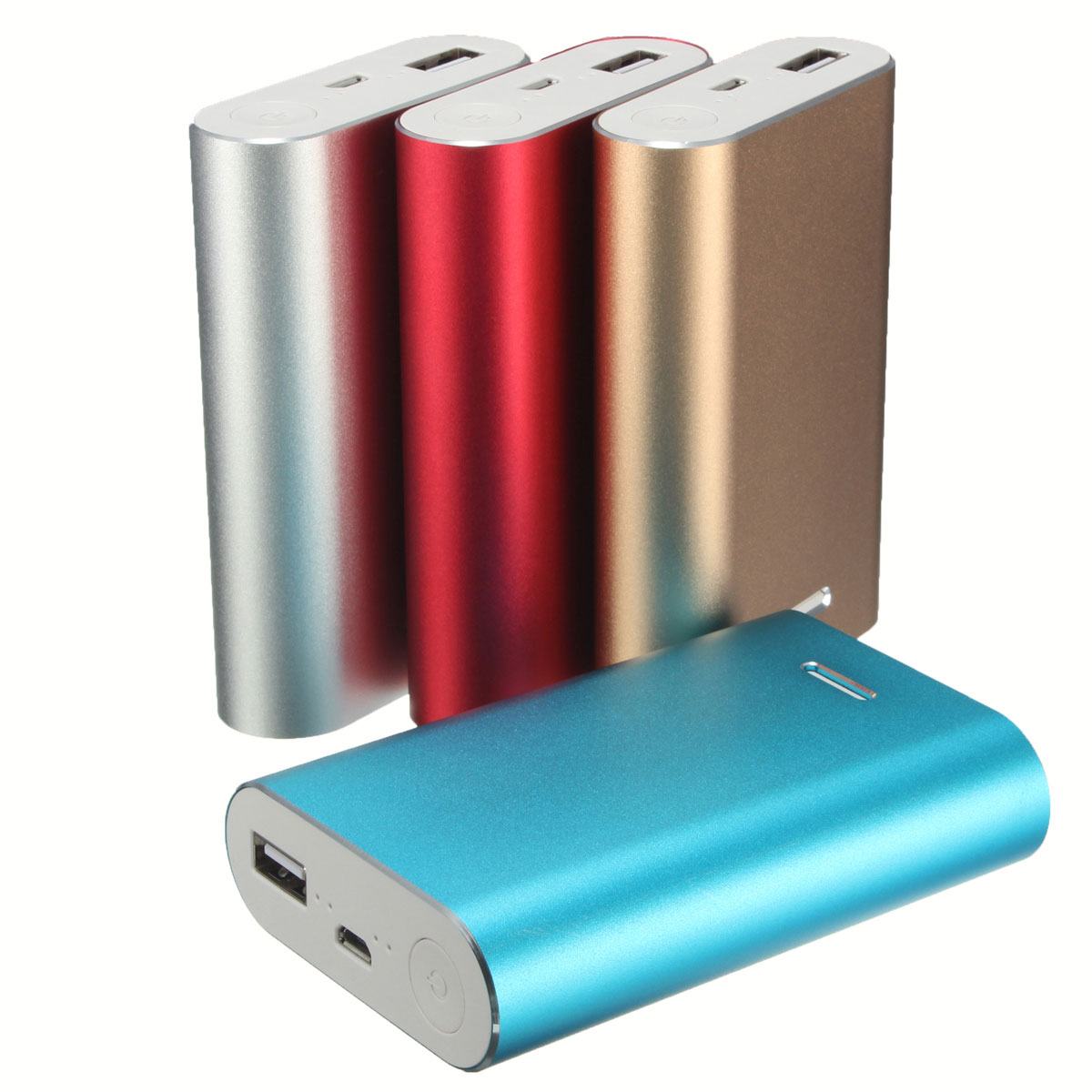 Universal Hot Style Safety Portable Usb 3 X 18650 Battery