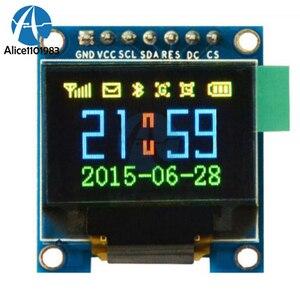 Светодиодный модуль SSD1331 SPI, 0,95 дюйма, 7pin, полноцветный, 65K, для Arduino, легкий и тонкий, 96*64, разрешение, маленький LCM
