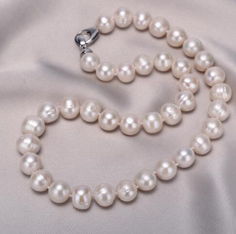 где купить Selling Jewelry>>> Natural pearls of rare color. Necklace with natural 11-12mm pearls по лучшей цене
