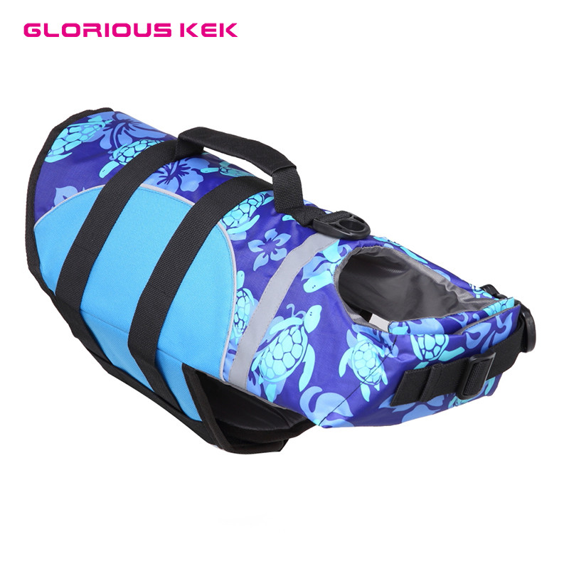 Entusiasta Glorious Kek Pet Cane Giubbotto Di Salvataggio Del Cane Di Estate Swinwear Tartaruga Squalo Stampe Cute Dog Life Vest Per Small Medium Large Dogs Blu Sml Prezzo Più Conveniente Dal Nostro Sito