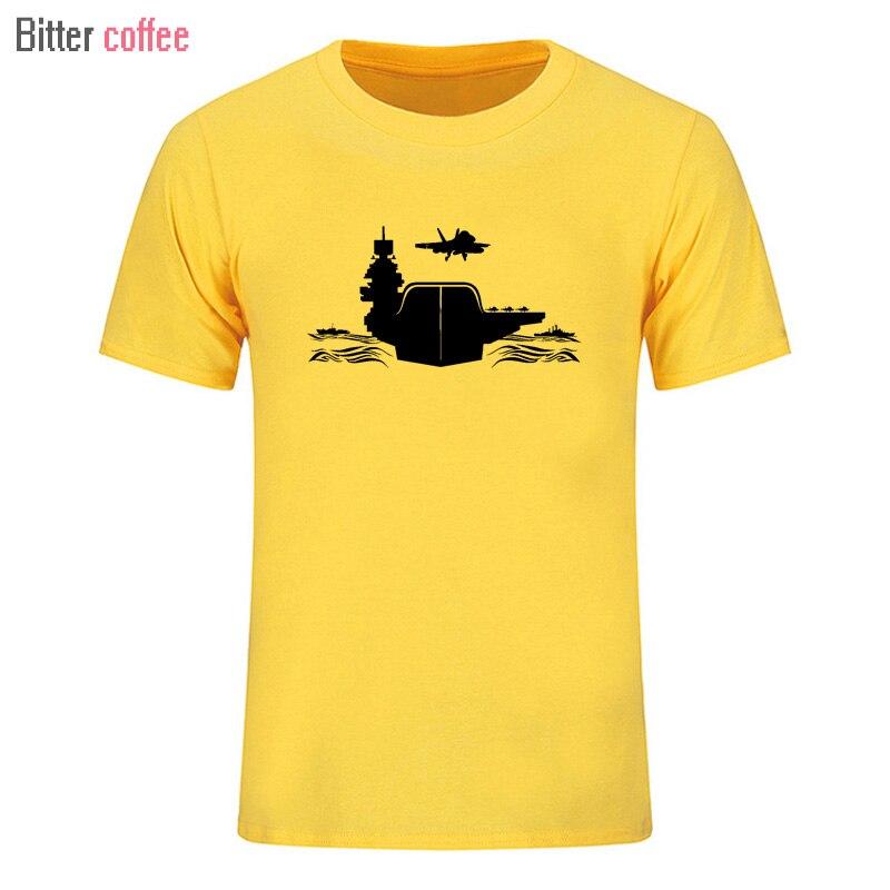 Mens T-shirt Short Sleeve 2018 Summer Funny T Shirts Fashion brand Logo Air Carrier Print T shirt Men Tops Tees  Men's T-shirt