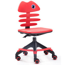 Children Chairs kids computer chair plastic lifting kids chair Swivel chair kids Furniture chaise enfant sillon infantil hot new(China)