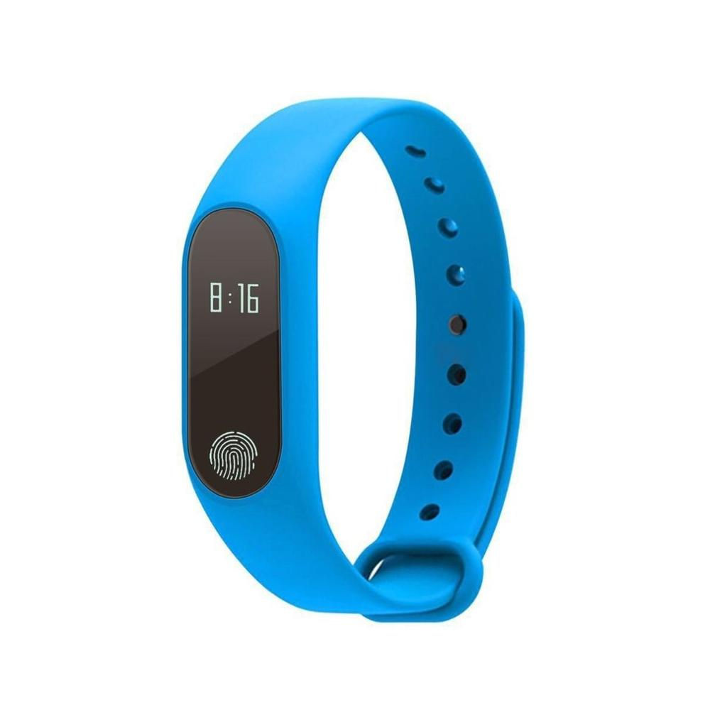 IP67 Waterproof Bluetooth 4.0 M2 Smart Watch Fitness Heart Rate Monitor Call Reminder Pedometer Bracelet Health Sleep Wristband