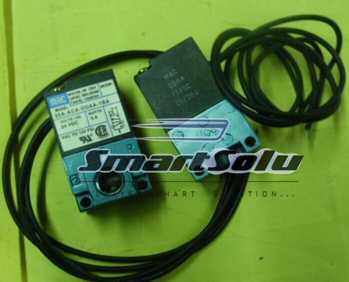 все цены на  Free shipping MAC type DC 24V Drip molding machine High Frequency Valve; Model 35A-ACA-DDAA-1BA (35AACADDAA1BA)  онлайн