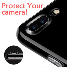 Esamday Ultra Thin Soft TPU Gel Original Transparent Case For iPhone 6 6s 7 7Plus 6sPlus Crystal Clear Silicon Cover Phone Cases