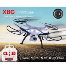 Syma X8G 2.4g 4ch 6 Axis Drone with 5.0MP 1080P Action HD Camera RC Quadcopter RTF Helicopter Toys