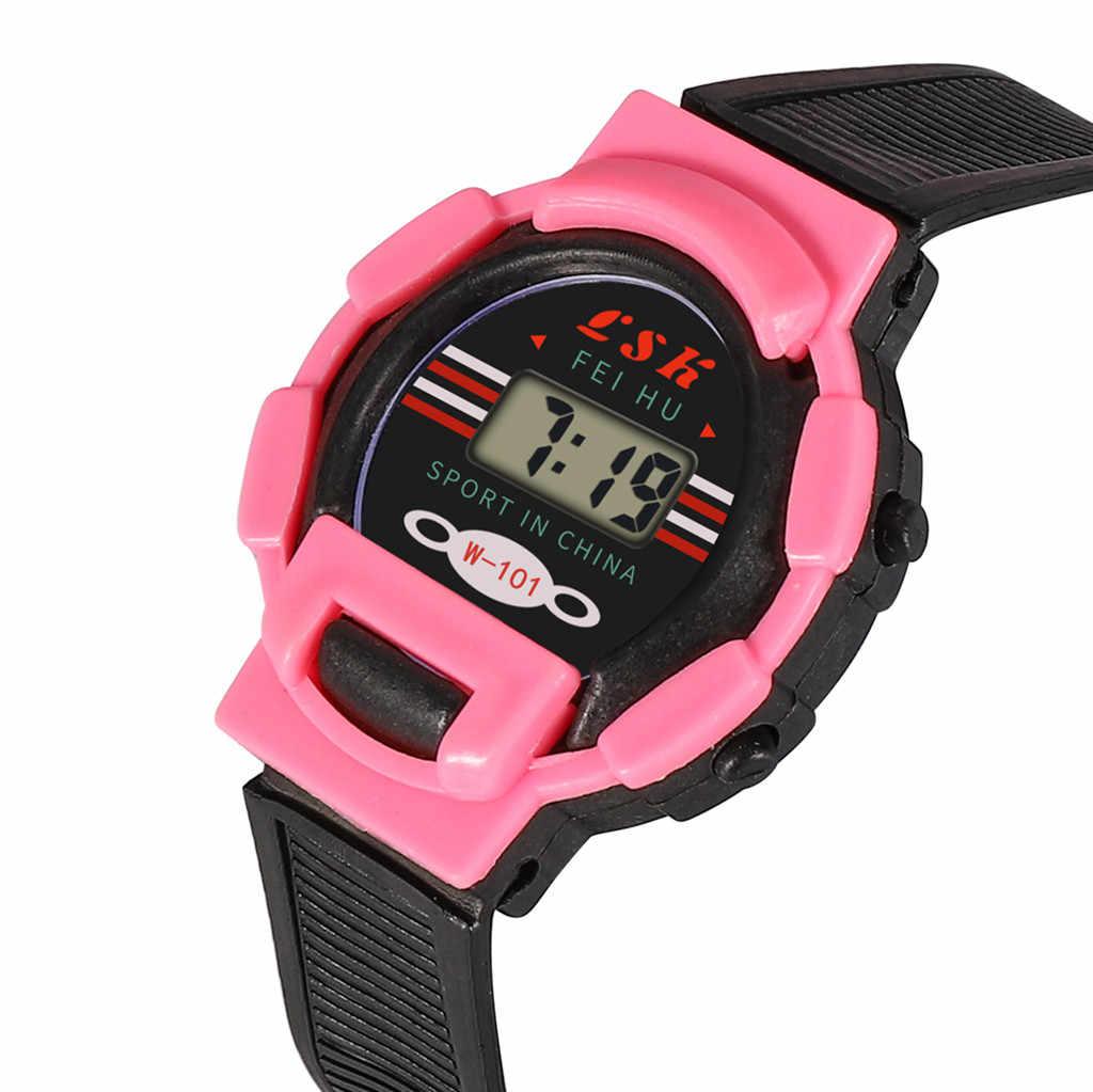 ילדי ילד ילדה שעון דיגיטלי תלמיד LED ספורט שעוני יד zegarek dzieciecy reloj nios montre enfant relgio infantilsaat kol