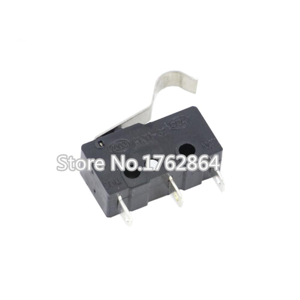 10PCS/lot 3pin All New Limit Switch N/O N/C 5A250VAC KW11-3Z Mini Micro Switch Original sales