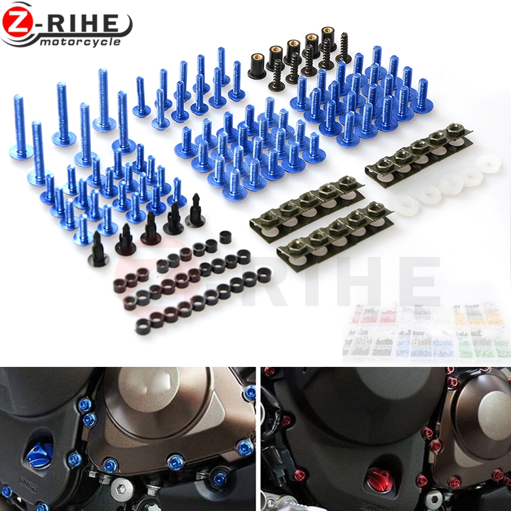 Universal Motorcycle Accessories Fairing body work Bolts Screws For Suzuki gsxr 600 / 750 gsxr600 gsxr750 SV650 GSR750 GSX-S750